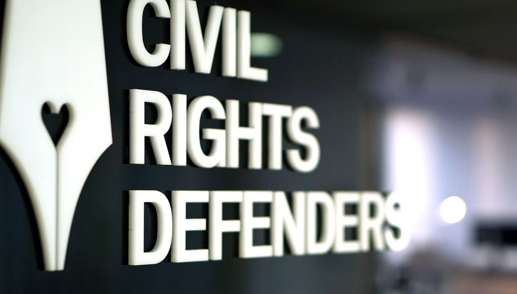An image of Civil Rights Defenders logotype