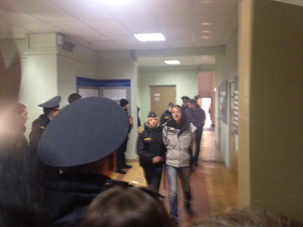 Belarus arrest