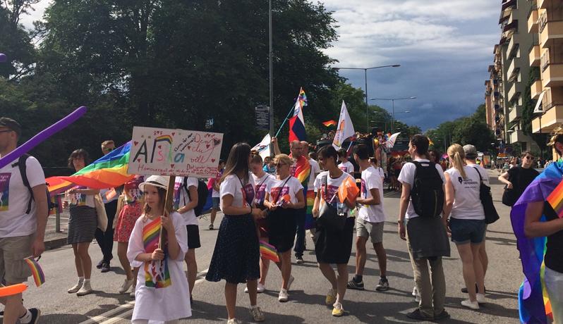 Civil Rights Defenders i Prideparaden 2016