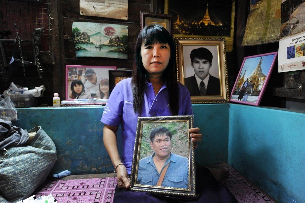 Ma Thandar, wife of murdered Ko Par Gyi.