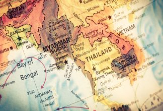 Map Myanmar and Burma