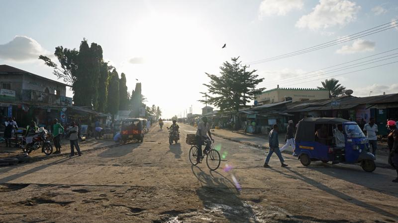 Street in Mombasa, Kenya