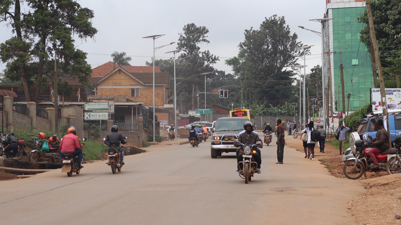 Street view Kampala, Uganda