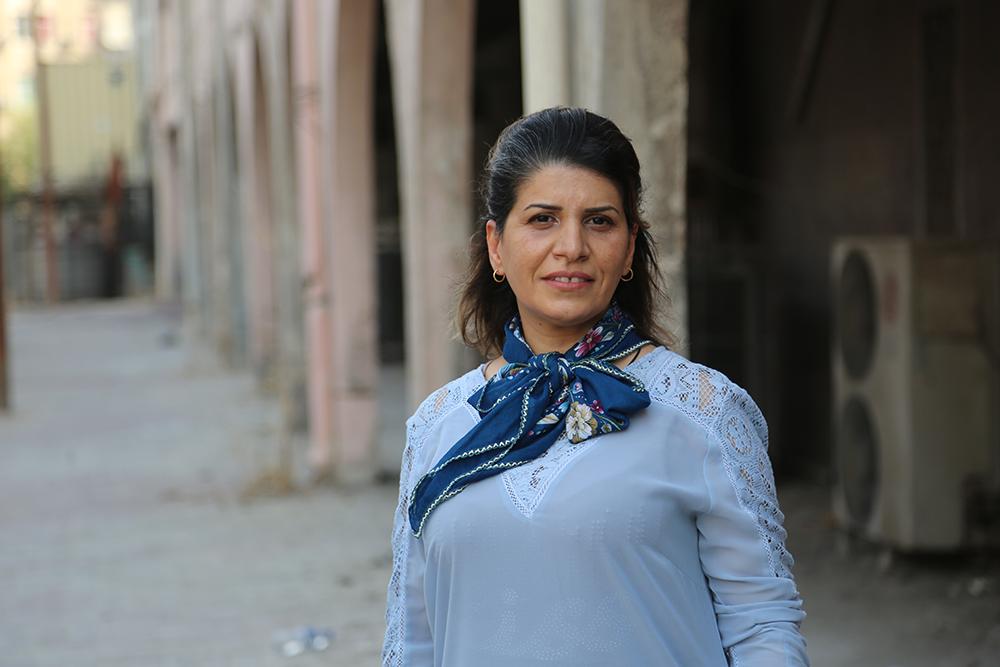 Press photo of Intisar Al-Amyal