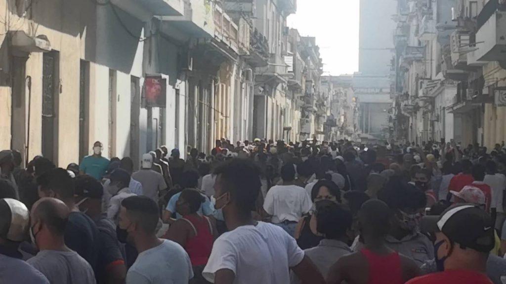 Protester på Kuba